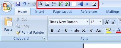 wordpress word 2007 macros