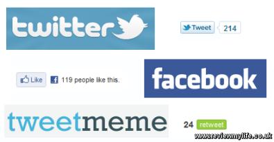 twitter facebook tweetmeme logos