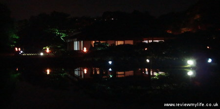 ritsurin gardens takamatsu at night 12