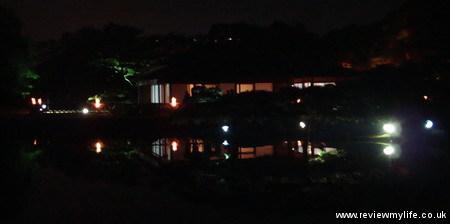 ritsurin gardens takamatsu at night 12