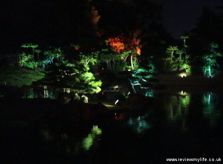 ritsurin gardens takamatsu at night 14