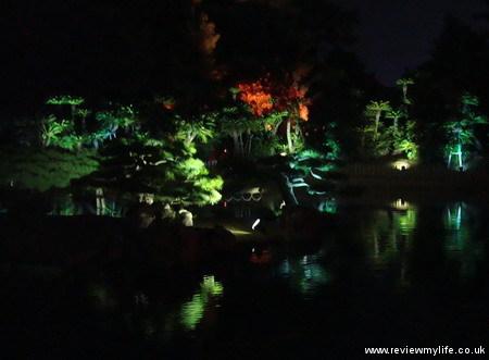 ritsurin gardens takamatsu at night 14