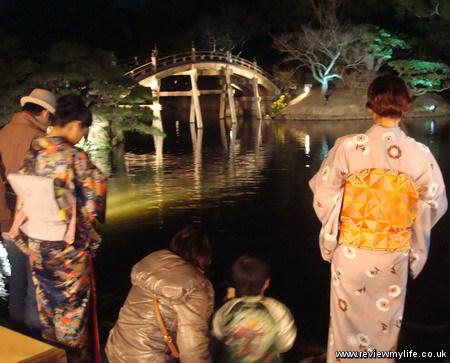 ritsurin gardens takamatsu at night 18