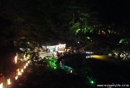 ritsurin gardens takamatsu at night 20