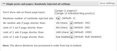 ad injection plugin for wordpress 4 450