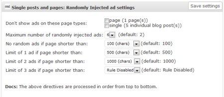 ad injection plugin for wordpress 4 450