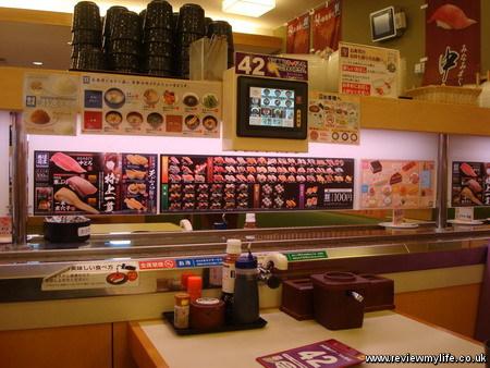 kaiten conveyor belt sushi japan 1