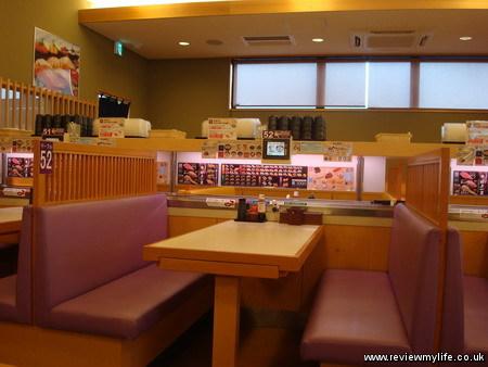 kaiten conveyor belt sushi japan 2