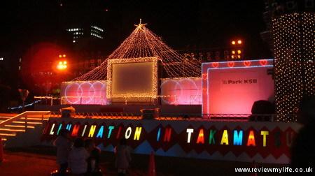 takamatsu christmas dream illuminations 09
