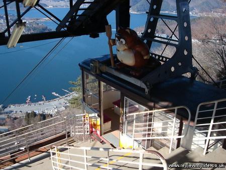 visiting mount fuji japan cable car 03