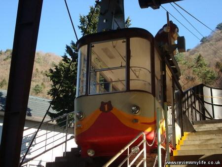 visiting mount fuji japan cable car 08