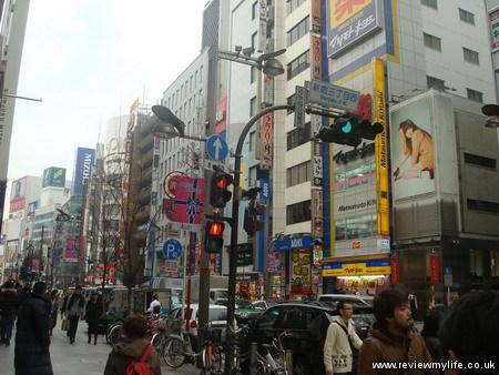 akihabara shinjuku walk 7
