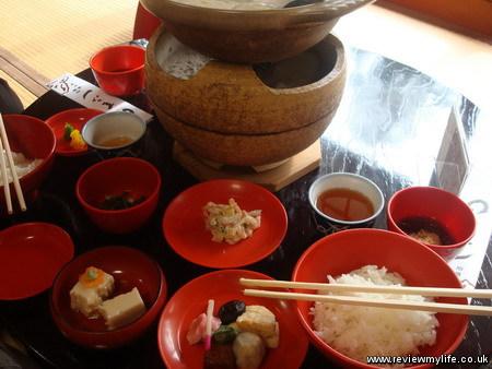 yudofuya vegetarian restaurant ryoanji kyoto 2