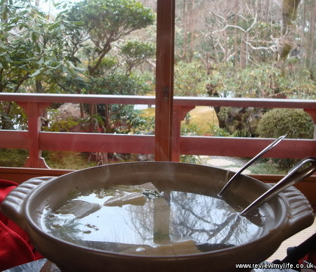 yudofuya vegetarian restaurant ryoanji kyoto 3