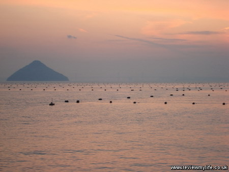 seto inland sea sunset 1