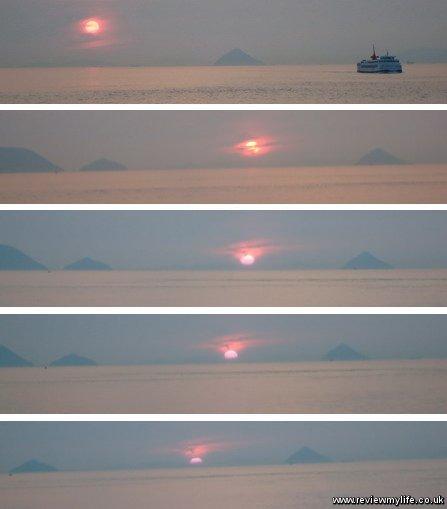 seto inland sea sunset 10
