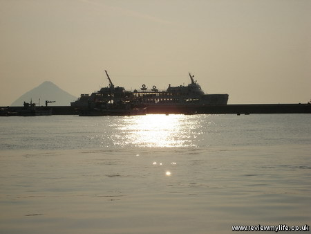 seto inland sea sunset 2