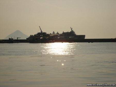 seto inland sea sunset 2