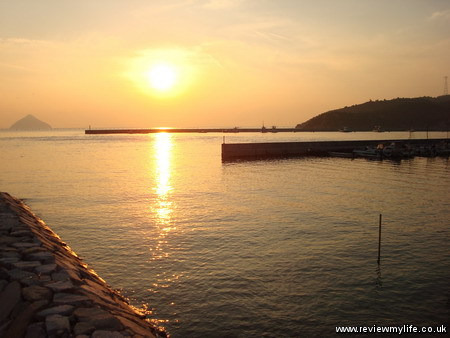 seto inland sea sunset 3