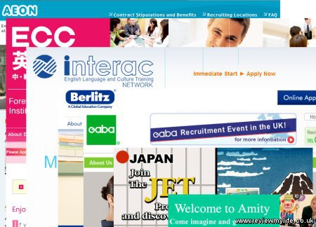 Essay application for ALT position with Interac in Japan?