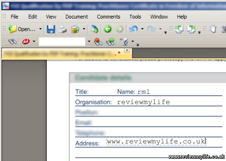 editing a pdf