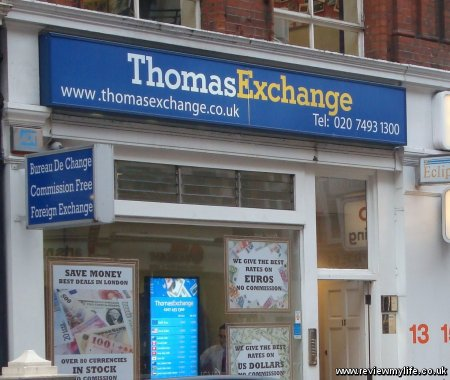 thomas exchange uk maddox street