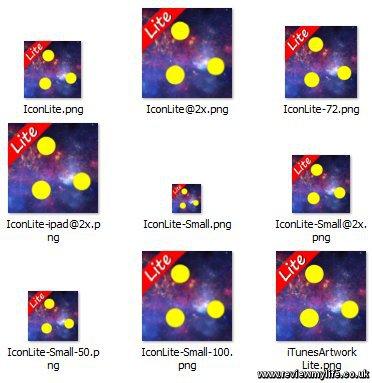 solar balls lite icons