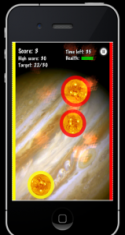 Solar Balls game for iOS